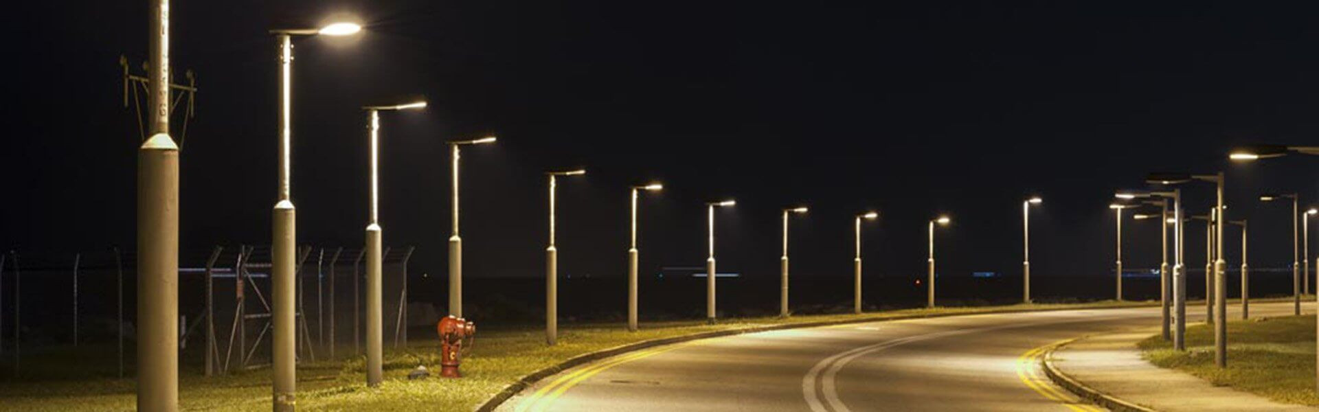Slide LED Street Light Housing D